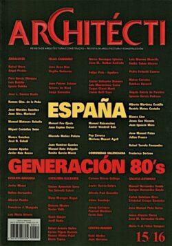Revista Architécti nº 15/16