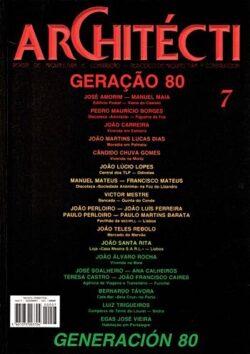 Revista Architécti nº 7