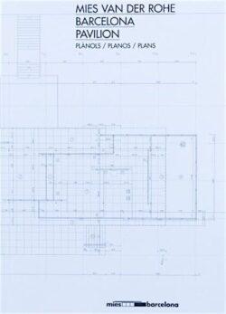 Mies van der Rohe Barcelona Pavilion Plans A4