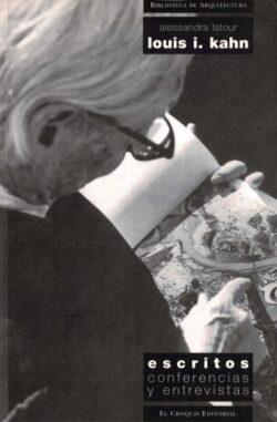 Louis I. Kahn: escritos